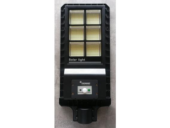 Luminaria Led Solar Reflector Aluminio 60W Fiberkuvet