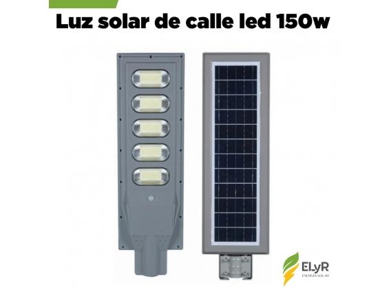 Luz De Calle Premium Solar 150W Led