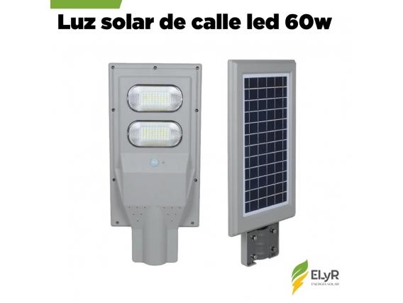 Luz De Calle Premium Solar 60W LED