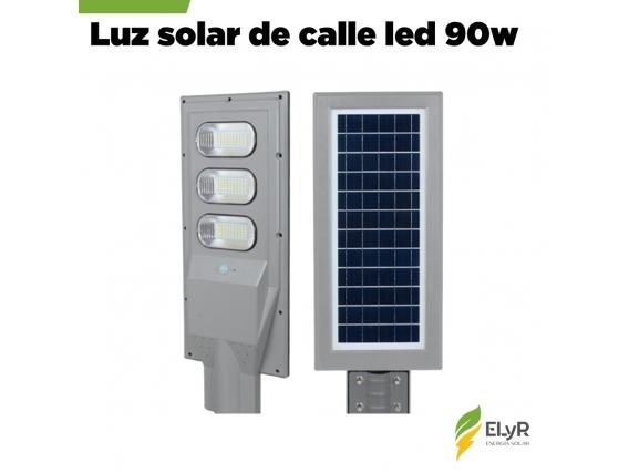 Luz De Calle Premium Solar 90W Led