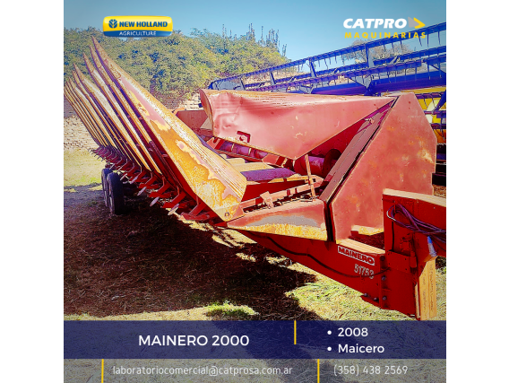 Maicero Mainero 2000 Año 2008