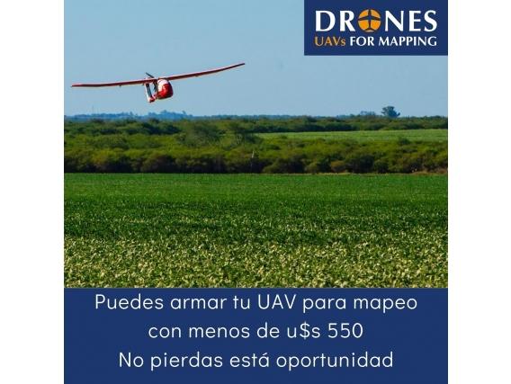 Manual De Armado De Drones/uavs Para Mapeo Y Topografía