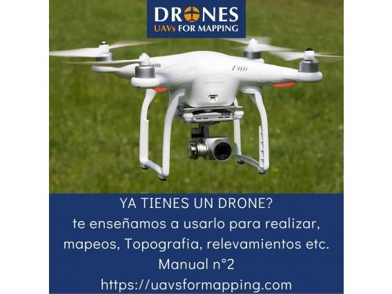 Manual De Operación De Drones Y Procesado De Datos