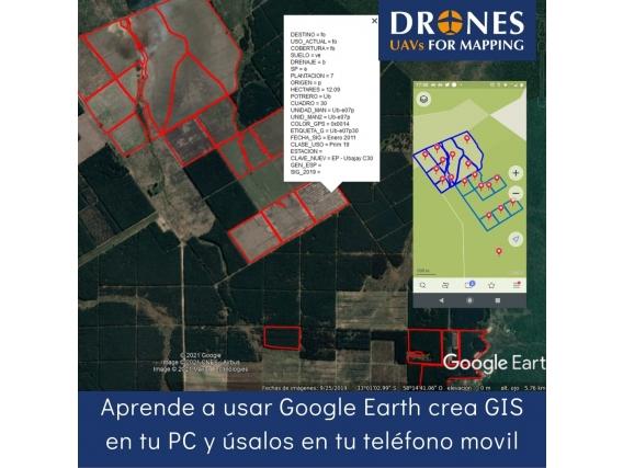 Manual De Uso De Google Earth Profesional-Gis Y Planos