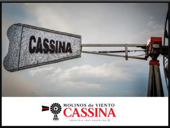 Maquina, Rueda Y Cola Molino De Viento Cassina 11 Pies