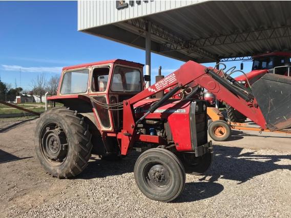 Tractor Massey Ferguson 1185 Con Pala