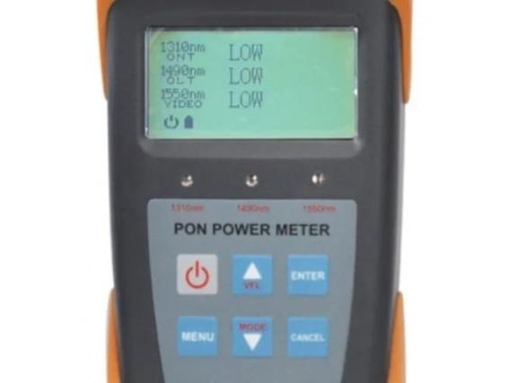 Medidor De Potencia Fibra Óptica Power Meter Ont Olt/video
