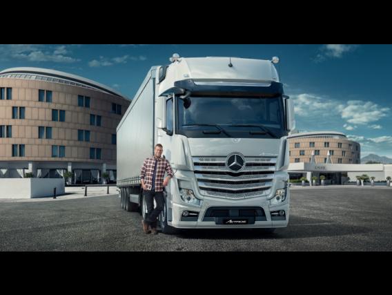 Mercedes-Benz Actros 2042 Ls /37
