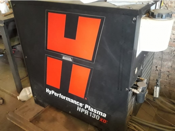 Mesa De Corte Plasma Con Fuente Hypertem Hd Hpr130Xd