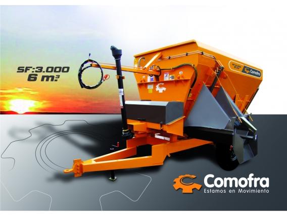Mixer horizontal Comofra SF-3000