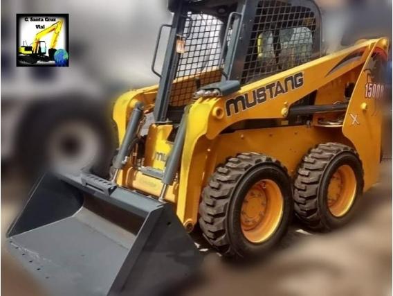 """Mini Cargadora Mustang """"nueva"""""""