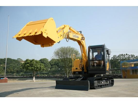 Mini Excavadora Liugong Clg 908D - 8.000Kg Balde 0.32M3
