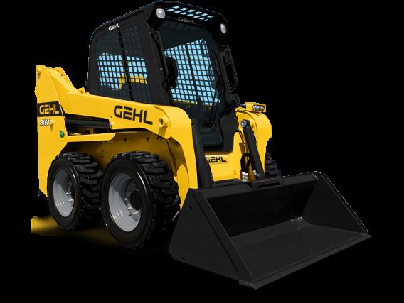 Minicargadora Gehl R165