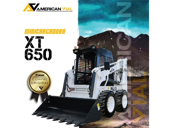 Minicargadora  Wecan XT650