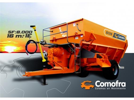 Mixer horizontal Comofra Sf-8000 1E