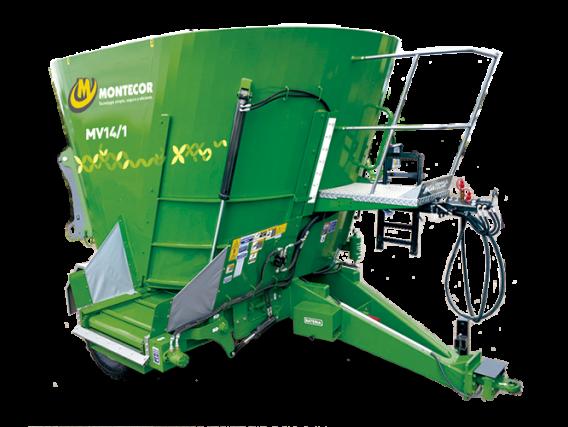 Mixer Montecor Vertical Mv 14/1 Ht High Torque