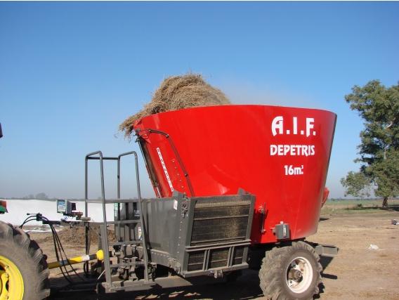 Mixer Vertical 16M3 Depetris