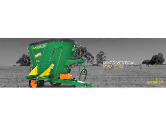 Mixer Vertical Agromec 14 M3 Lateral