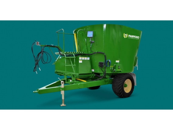Mixer Vertical Pampero 14 M - Vedia, Buenos Aires