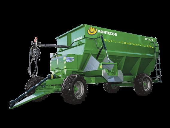 Mixers Montecor Horizontal H-14/2