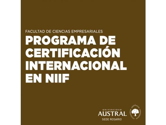 Programa De Certificación Internacional En NIIF