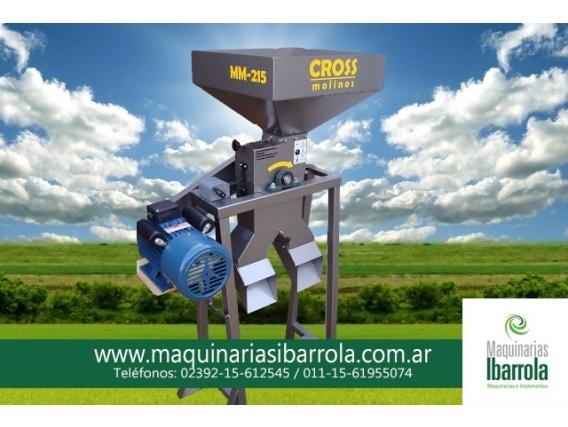 Moledora Granos Mini Eco Cross Mm215 Complet 8 M Nafta