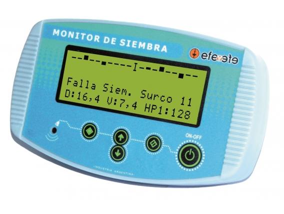 Monitor 12 Surcos Instalado Efe Y Efe