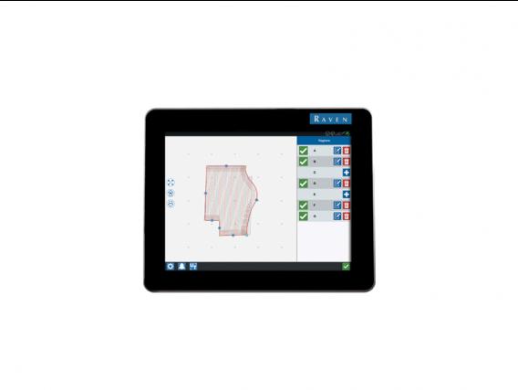 Monitor de rendimiento Raven CR12™ para Tractor Case y New Holland
