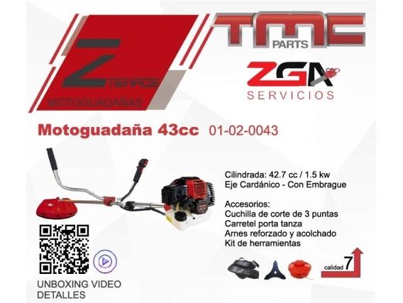 Motoguadaña Tmc 43Cc