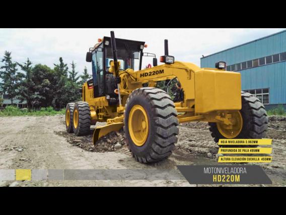 Motoniveladora Michigan Hd220M