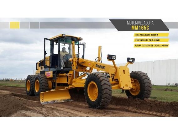Motoniveladora Michigan Mm165C