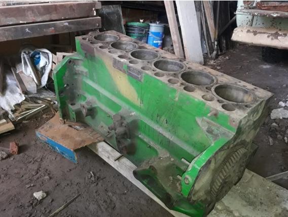 Motor Desarmado John Deere 8760.