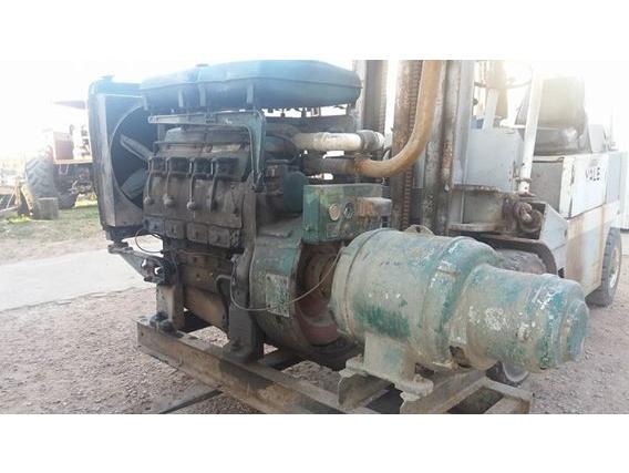Motor Lister Diesel Con Generador Eléctrico