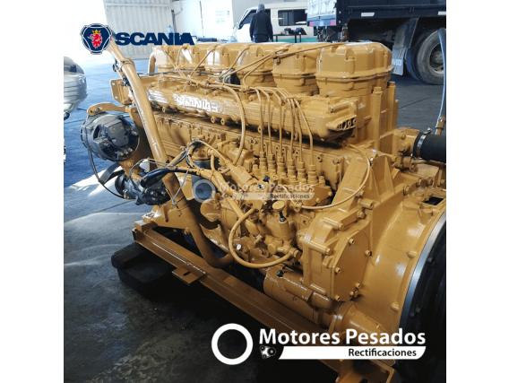 Motor Scania 124 Mecanico - Vendemos Repuestos De Motor