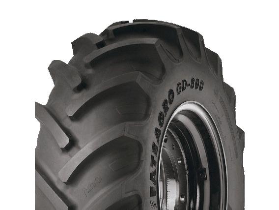 Neumático Fate 12.4-24 Gd-800 8T. Cubierta Tractor