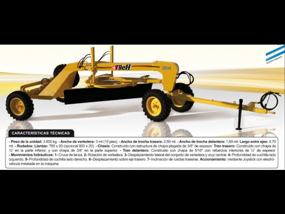 Niveladora De Arrastre Tbeh N10-E