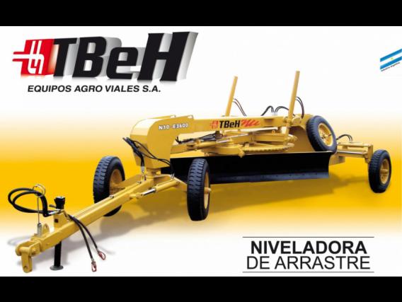Niveladora De Arrastre Tbeh N10 - E3600