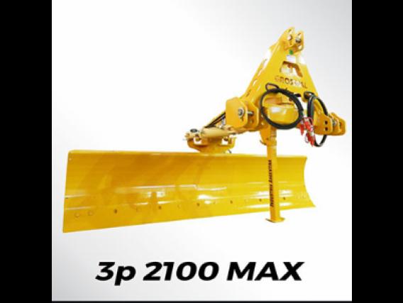 Niveladora Hidráulica 3 Puntos Grosspal 2100 Max