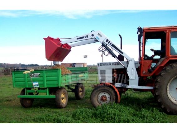 Pala Cargadora Frontal De 3 Cilindros P/ Tractor 70Hp