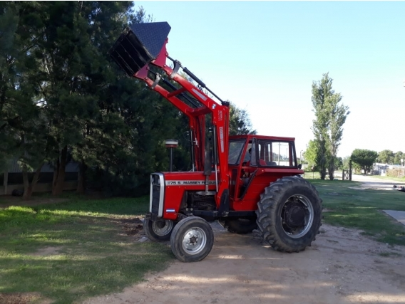 Pala Cargadora Frontal Par Tractor Massey, Fiat, Deutz