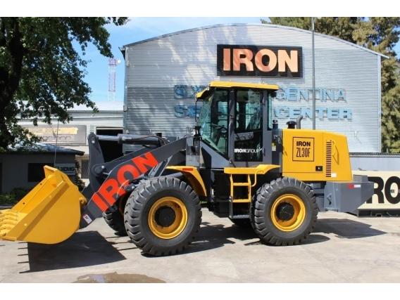 Pala Cargadora Iron Zl30F - 2M3 - 125Hp Dólar B N R A