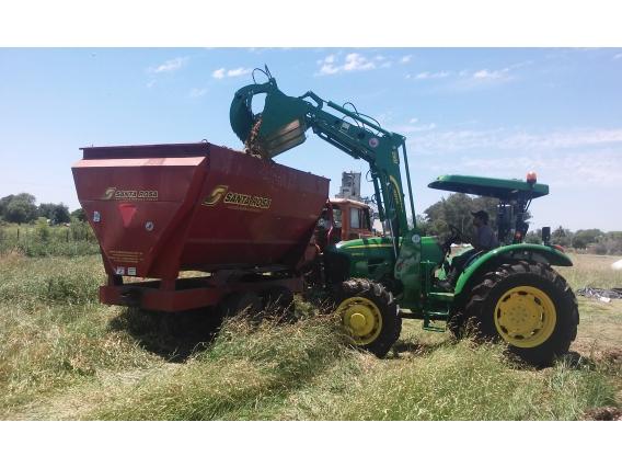 Pala Frontal Hidráulica OM-260-F. (Para tractor John Deere 5090)