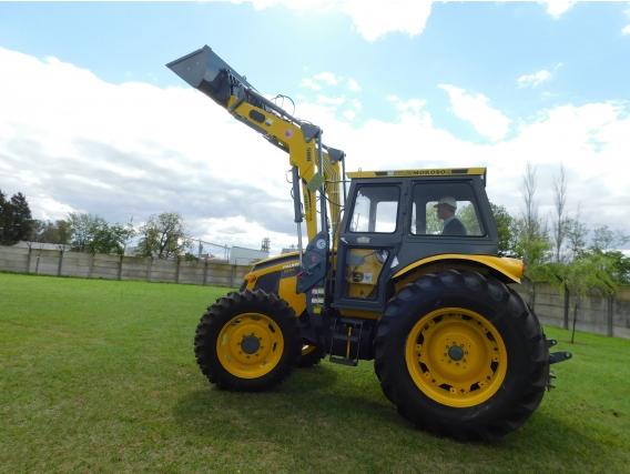 Pala Frontal Hidráulica Om-500-F.p/ Tractor Pauny 210