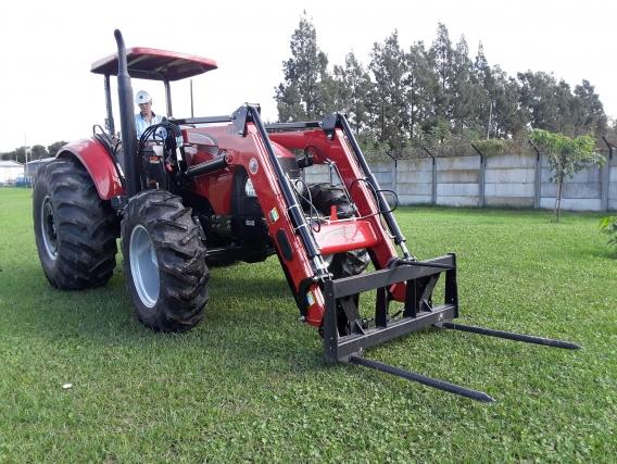 Pala Cargadora OM-600-F Euro Base. (Para Tractor CASE 120)