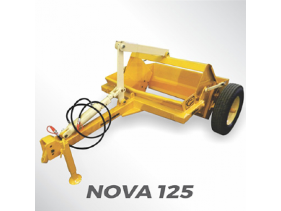 Pala Hidráulica Grosspal Nova 125