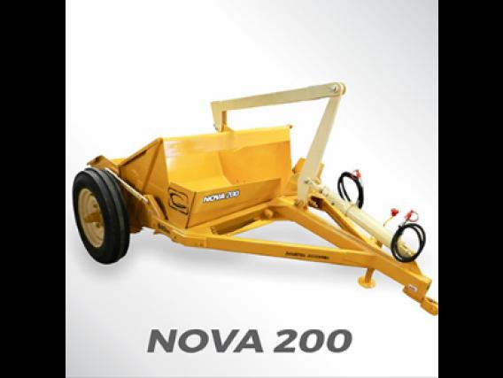 Pala Hidráulica Grosspal Nova 200