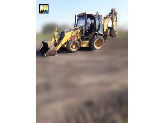 Pala Y Retro Caterpillar 416E