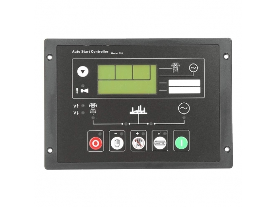 Panel de Control Arranque Automático DSE720