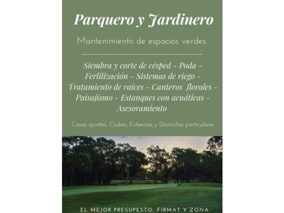 Servicios de Parquero Y Jardinero