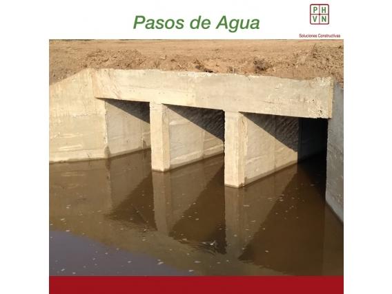 Paso De Agua 8 Mts - Alcantarillas Rectang 2,00 X 1,50